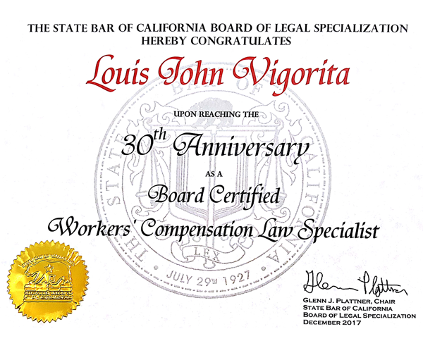 California Workers\' Compensation Attorney
